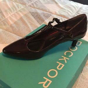 NWT ROCKPORT Women's Khalil's T-strap shoes